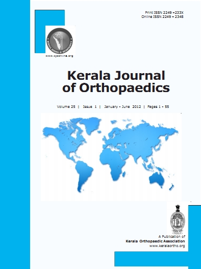 Keral Journal of Orthopaedics